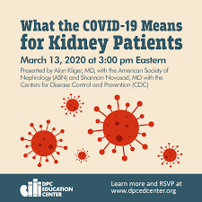 What the COVID-19 Means for Kidney ...