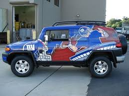 Car Wrapping Truck Wraps Trailer Wraps Car Decals New York Giants Ny Giants Giant Truck