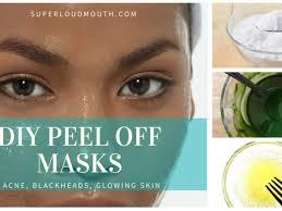 41 diy l off face masks for acne