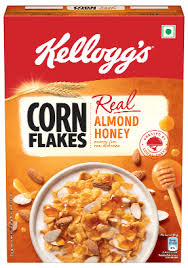 corn flakes with real almond honey