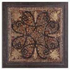 ardah metal wall art uttermost