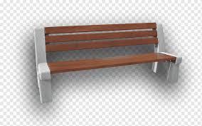 concrete bench table garden park table