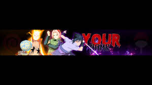 NARUTO SHIPPUDEN V3 - Anime Banner Template #28 (Thanks for 500  subscribers) - YouTube