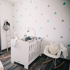 Triangles Wall Sticker For Kids Room Baby Room Wall Decal Stickers Nursery Boy Room Decorative Stickers Kids Bedroom Home Decor Wall Stickers Aliexpress