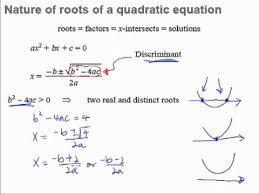 1 quadratic equations and inequalities