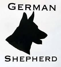 German Shepard Vinyl Decal K9 Dog Bumper Sticker Yeti Window Decal Ebay
