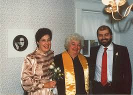 Steph and Tom with Gertrude Smith Roberts - Just Married! | Flickr