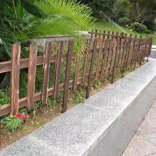 Surprise Wooden Picket Fence Garden Lawn Edging Yard Outdoor Tree Fencing 20cm Buy Online At Best Prices In Pakistan Daraz Pk
