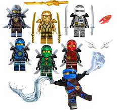 LEGO NINJAGO MINIFIGURE SETS ZANE COLE NYA KAI JAY GOLDEN DRAGON LLOYD  MINIFIGS – Lego