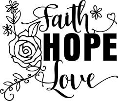 Amazon Com Faith Hope Love Vinyl Decal Sticker Handmade