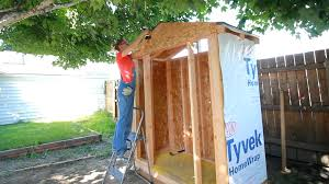 building an organizing a shed darbin