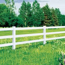Vinyl Fencing Security Fence 3 4 Rail Ranch Activeyards