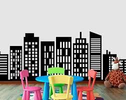 City Building Decals Etsy
