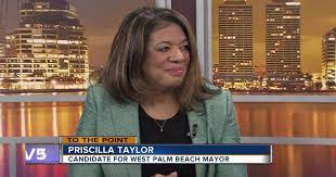 To The Point 3/3/19 - Priscilla Taylor, candidate for WPB mayor