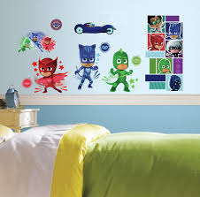 Roommates Pj Masks Peel And Stick Wall Decals 9 Inches X 17 375 Inches Rmk3586scs Amazon Com