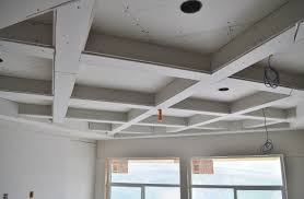 coffered ceilings and wall paneling