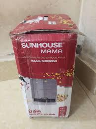Bếp Điện Từ Cảm Ứng Sunhouse MaMa SHD6858 - Tặng Nồi Lẩu 2 Ngăn - Hàng  chính hãng