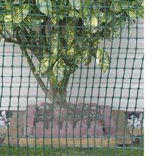Peak 25 Ft L X 36 In H Plastic Fencing In Green With 2 Inch X 2 Inch Mesh Size Garden Fence 3436 The Home Depot