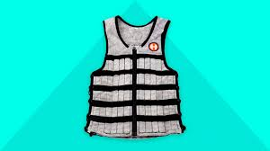 weighted vest transforms you into a gym