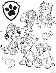 Paw Patrol Coloring Pages Kleurplaten Disney Kleurplaten Adult