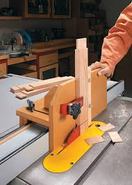 Adjustable Tenon Jig Woodworking Project Woodsmith Plans
