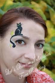 black cat halloween makeup idea by let