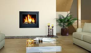 black electric fireplace design style