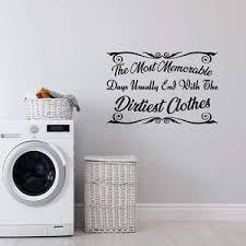 Laundry Wall Quotes Decals Vwaq Com Vinyl Wall Art Quotes