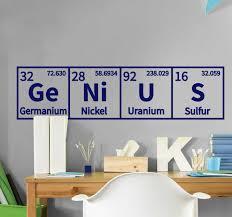 Chemical Genius Science Sticker Tenstickers