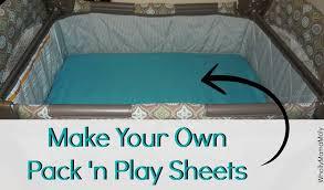 diy pack n play sheets pack n play
