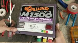 How To Repair A Gallagher Fence Charger Gallagher M1500 By Fencer Fixer Repair Llc