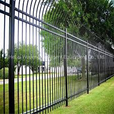 China Low Price High Quality Wrought Iron Gate Design Fence Gate Metal Fence Gate Photos Pictures Made In China Com