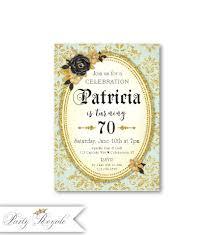 50 Invitaciones 70 Anos Mujer Babyshower