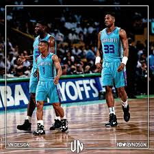 VN Design - Muggsy Bogues, Larry Johnson & Alonzo Mourning ...