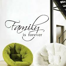 Family Is Forever Wall Art Decal Quote Words Lettering Decor Sticker Wall Decals For Sale Online