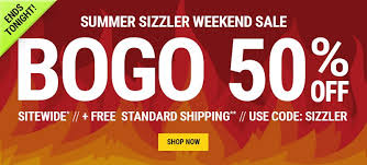 last day of the summer sizzler weekend