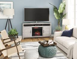 an electric fireplace this winter