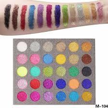 dry shimmery powder cosmetics