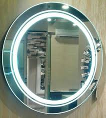 30 inch round wall mounted led lighted