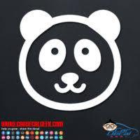 Panda Bear Car Window Decals Stickers Graphics
