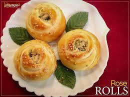 rose rolls fauzia s kitchen fun