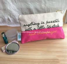 whole canvas makeup bags
