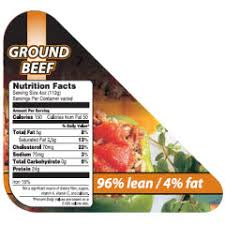 4 fat ground beef 1 ply corner
