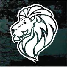 King Lion Car Decals Window Stickers Customized Decal Junky