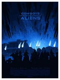 Mondo's COWBOYS & ALIENS Poster is the best image for the film thus far!