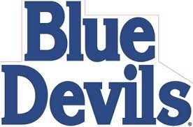 Amazon Com 6 Inch Blue Devils Logo Decal Duke University Removable Wall Sticker Art Ncaa Home Room Decor 6 By 4 Inches Baby