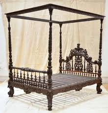 anglo indian carved bed in mumbai