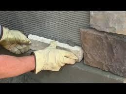 how to install veneer stone you