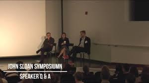 John Sloan Symposium: Speaker Q& A - YouTube