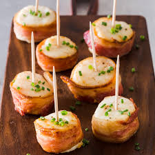 Broiled Bacon-Wrapped Scallops ...